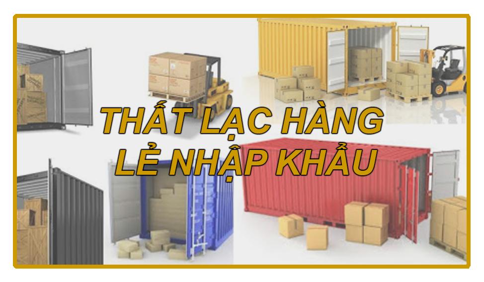 Cách tránh thất lạc hàng lẻ LCL nhập khẩu từ nước ngoài về Việt Nam