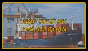 KHÔNG DÙNG TIỀN MẶT ĐỂ NỘP THUẾ NK, PHÍ HẢI QUAN TỪ NGÀY 1/4/2019