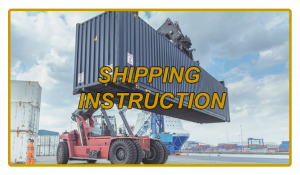 Shipping Instruction